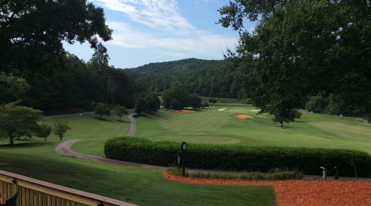 apple valley golf course | rumbling bald resort on lake lure | nc